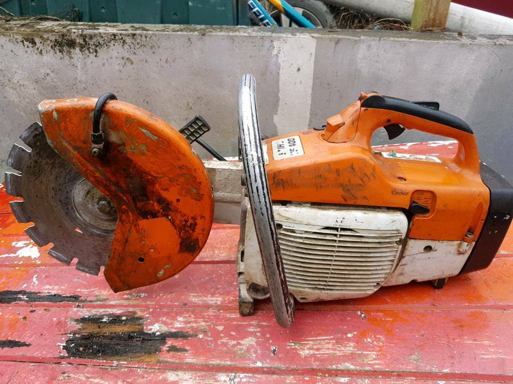 Ts400 stihl stone saw not husky partner Makita
