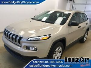 2015 Jeep Cherokee Sport 4x4- Great Value!