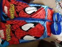 Spiderman sleeping bags