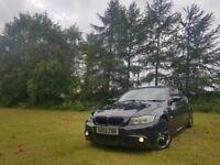 2010 BMW 320d M Sport Business Edition I DRIVE MV3 FULL LEATHER HPI CLEAR 2KEYS FSH I DRIVE LCI