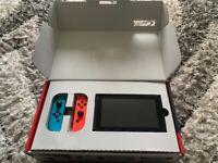 Switch + box + 4 games