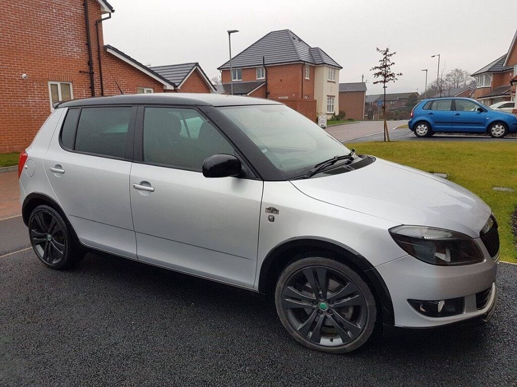 2012 skoda fabia monte carlo manual 4 door metallic silver with black roof and. Black Bedroom Furniture Sets. Home Design Ideas