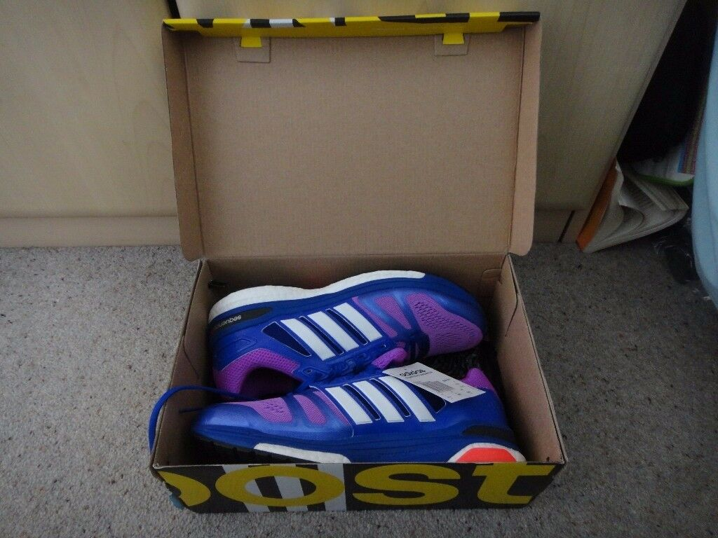 Adidas Super nova sequence 7 Ladies trainers size UK 8 New in box cost £105 new price on box