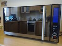 Silver Crest microwave oven with grill