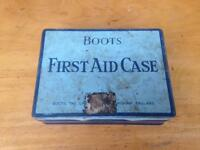 Vintage 1960s Boots car first aid kit