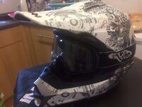 duchinni motocross helmet
