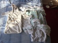 Boundle of babys clothes