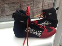 Lonsdale hurricane boxing boots