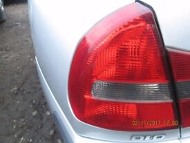 Mitsubishi Carisma Passenger Side Outer Rear Light 2003.