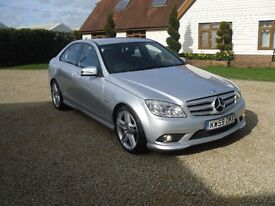 MERCEDES-BENZ C350 SPORT BLUEEFICENCY AMG STYLING AUTO 2010 A STUNNING EXAMPLE