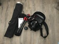 Canon 100D EOS SLR Camera with Lots of Extras!!!!!!