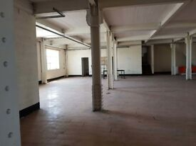 Large commercial warehouse space (1st floor)to let in sought after location in Smethwick.