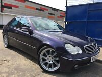 Mercedes-Benz C Class 2.1 C220 CDI Avantgarde Full Dealer Service History Long MOT Leather Seats