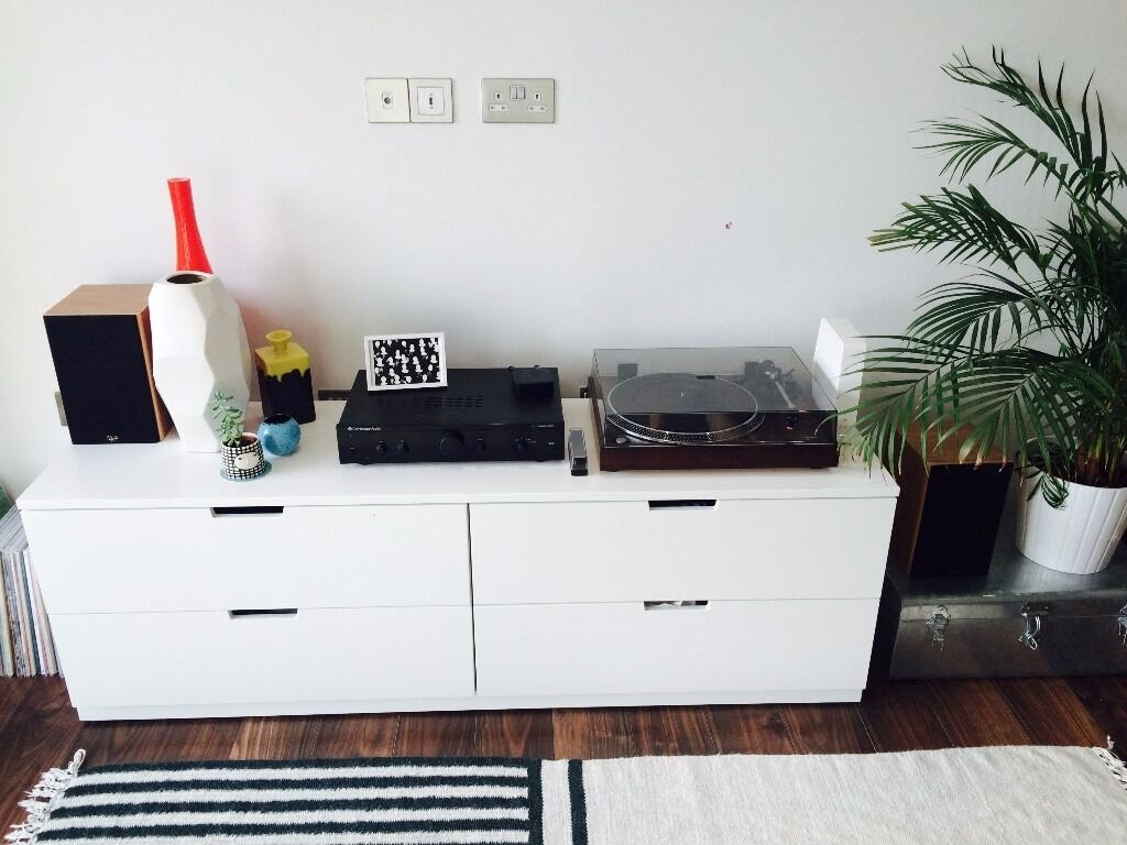 Chest of 4 drawers nordli ikea in southwark london gumtree