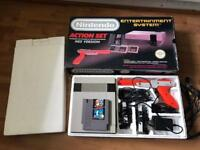 Nintendo nes action set console