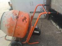 Cement & concrete mixer for sale