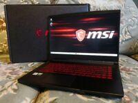 MSI GF65 Thin i7 10750H 16GB RTX 3060 1TB SSD 144Hz Fast Gaming Laptop WTY