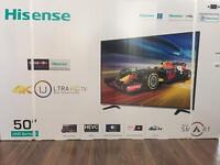 Hisense H50M3300 50 Inch 4K Ultra HD Smart LED TV free delivery in London