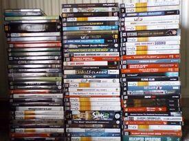PC CD ROM GAMES X 93 RETRO AND CLASSIC