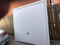 Single up and over garage door