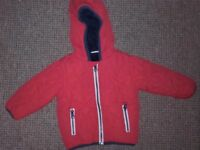 Boys NEXT star coat 6-9 months