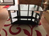 TV Stand - glass