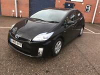 toyota pruis 2010 59 plate 1.8 vvti t3 hybrid auto leather seats 2 owner from new