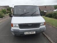 13 Seater mini bus for sale £500 0ffers, 400 Convoy D LWB good runner ex scout group use 2 owners.