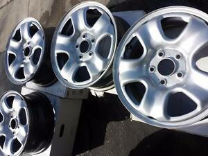 BRAND  NEW TAKE OFF HONDA CRV FACTORY OEM 16 INCH STEEL RIM SET OF FOUR.