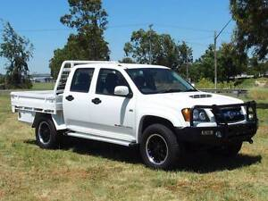 2011 Holden Colorado 4x4 Dualcab Traytop Ute.Turbo Diesel. Inverell Inverell Area Preview