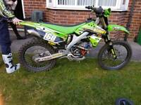 kx 250f 2012 racing tuned in imaculate condition
