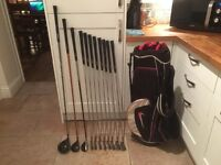 Golf clubs-Ping Driver-Ping Fairway Wood-Ping Hybrid-Ping Irons-Nike bag-Putter-Glove-balls & more