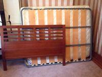 URGENT: Full double bed + mattress