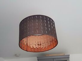 beautiful black/cooper lampshade