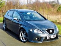 SUPERB!! 2007 SEAT LEON TFSI FR 2.0 5DR - SERVICE HISTORY - DRIVES PERFECT - *3 MONTHS WARRANTY*