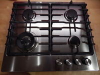 Lovely IKEA Stainless Steel Gas Hob for sale. Excellent Condition