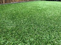 John Lewis high quality artificial grass one huge piece 320cmx390cm perfect condition.