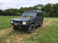 Land Rover Discovery 300tdi offroader challenge truck hybrid turbo