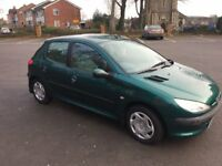 REDUCED FOR QUICK SALE Peugeot 206 70k mileage GREAT RUNNER