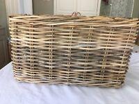 Beautiful large wicker basket