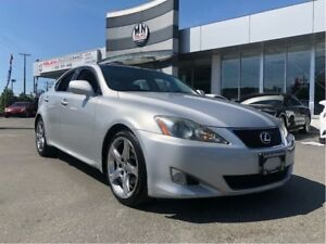 2008 Lexus IS 250 Fully Loaded Luxury Edition Only 129, 000KM
