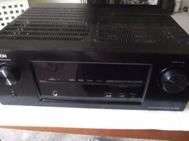 Denon AVR-X3000 Network 7.1 AV receiver - 7 HDMI in, 2 out, 4k, 3D, internet radio, USB, AirPlay etc