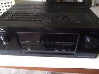 Denon AVR-X3000 Network 7.1 AV receiver - 7 HDMI in, 2 out, 4k, 3D, internet radio, USB, AirPlay etc