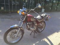 Kymco Sector 125 Retro Motorbike (Very low mileage, not Chinese, Made in Taiwan)