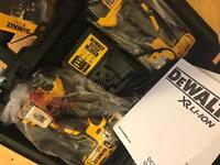 Dewalt 4ah drill combo set DCK259MT2. £250 Ono