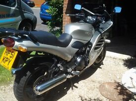 Triumph Trophy 51 plate 18075 miles silver well looked after service history £2450