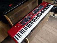 Nord Stage 2 HA88 88-Key Stage Piano with Official Case and Music Holder