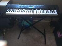 Keyboard- Casio CTK-1150, stand included