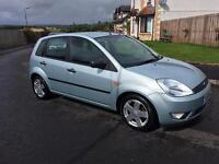 2003 FORD FIESTA ZETEC,LONG MOT,£795