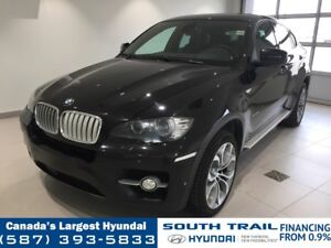 2011 BMW X6 50i - HEATED SEATS, LEATHER, DVD